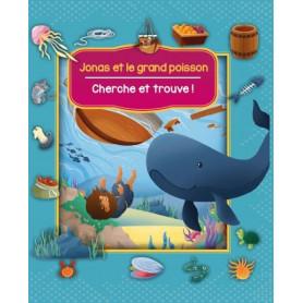 Jonas et le grand poisson – Cherche et trouve ! – Editions CLC