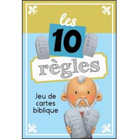 Jeu de cartes Les 10 règles – Editions ICharacter