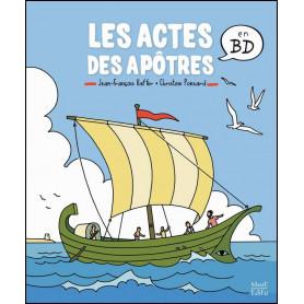 Les actes des apôtres en BD – Jean-françois Kieffer