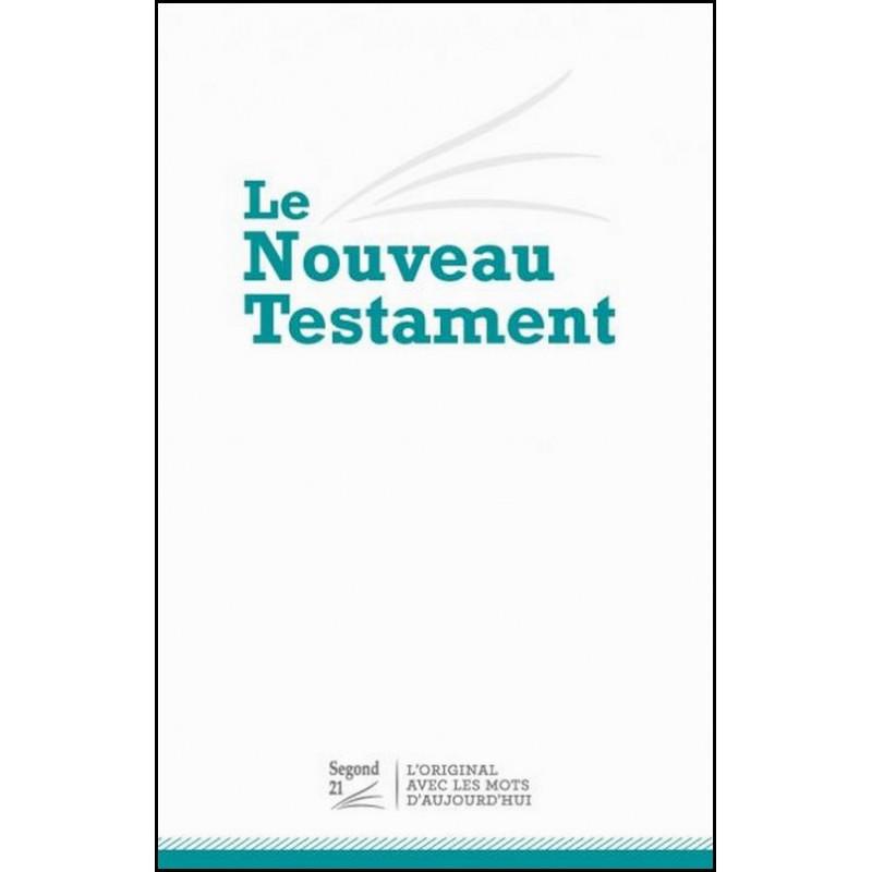 Nouveau Testament Segond 21 compact blanc - SG12704
