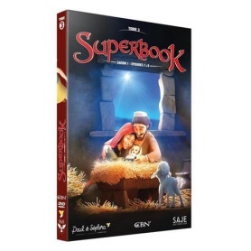 DVD Superbook Saison 1 - Episodes 7 à 9