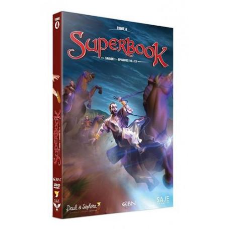 DVD Superbook Saison 1 - Episodes 10 à 13