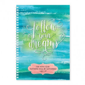 Carnet de notes Follow your dreams - 81700
