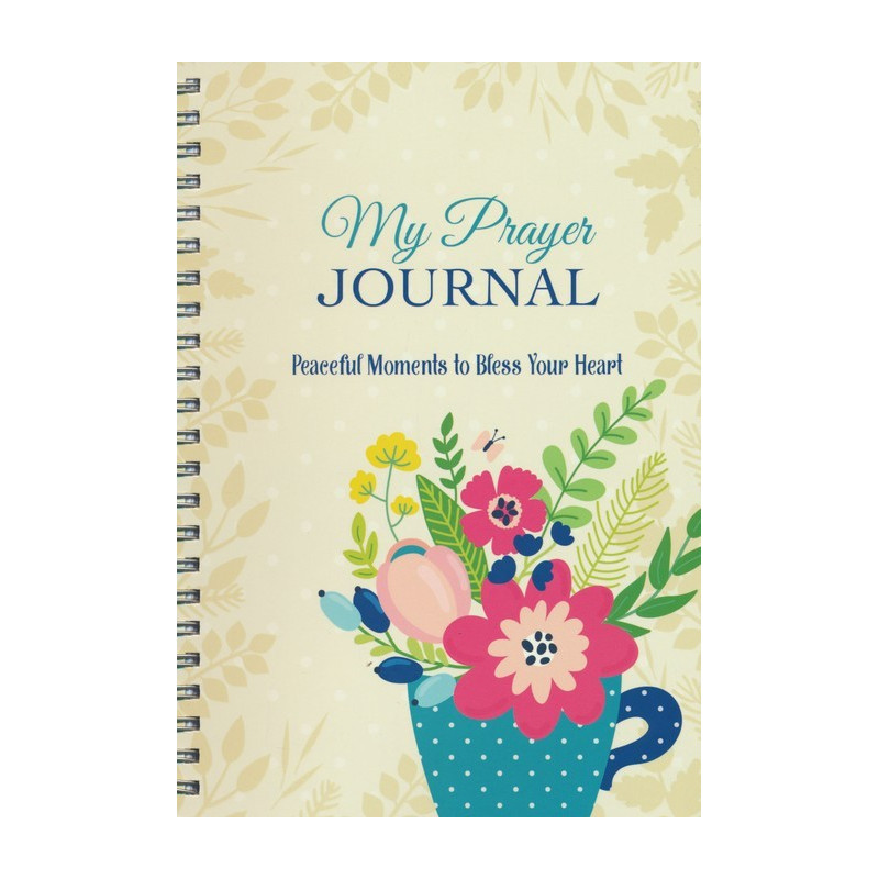 Carnet de notes My prayer journal - Peaceful moments to bless your heart - 22313