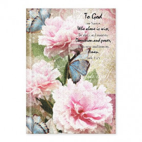 Carnet de notes Flower Trust in the Lord - 81735