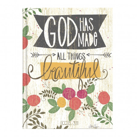 Carnet de notes God has made all things beautiful - 06414