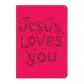 Carnet de notes Jesus loves you - 81728