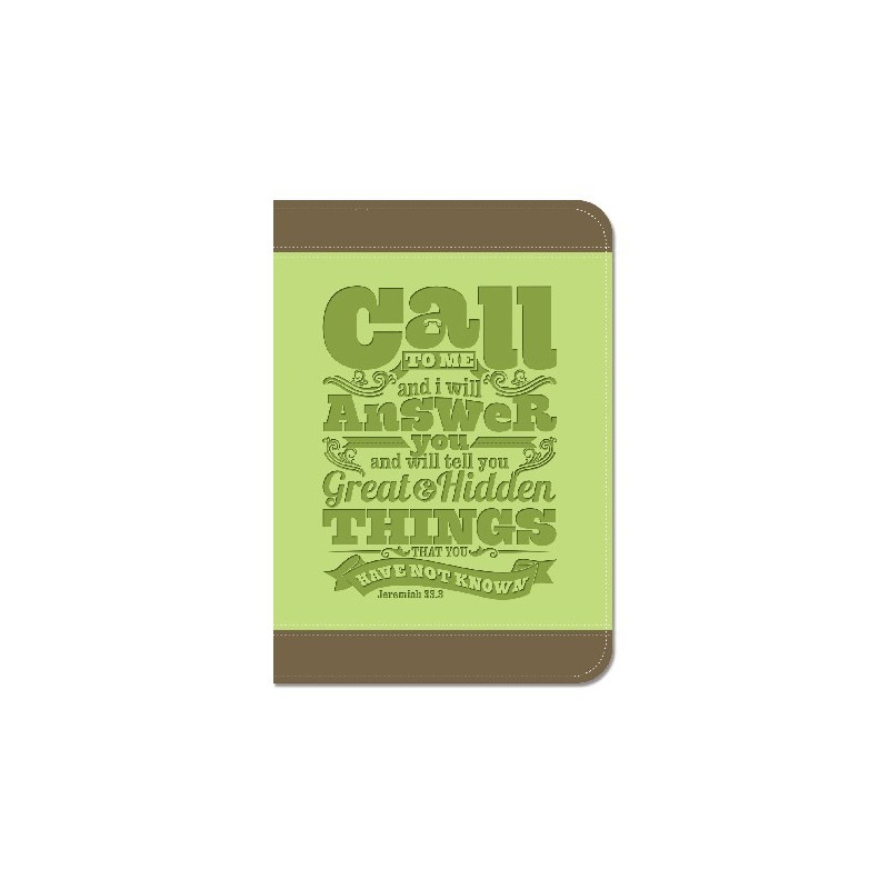 Carnet de notes Call to me and I will answer - 81727