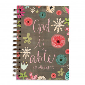 Carnet de notes God is able - 06430