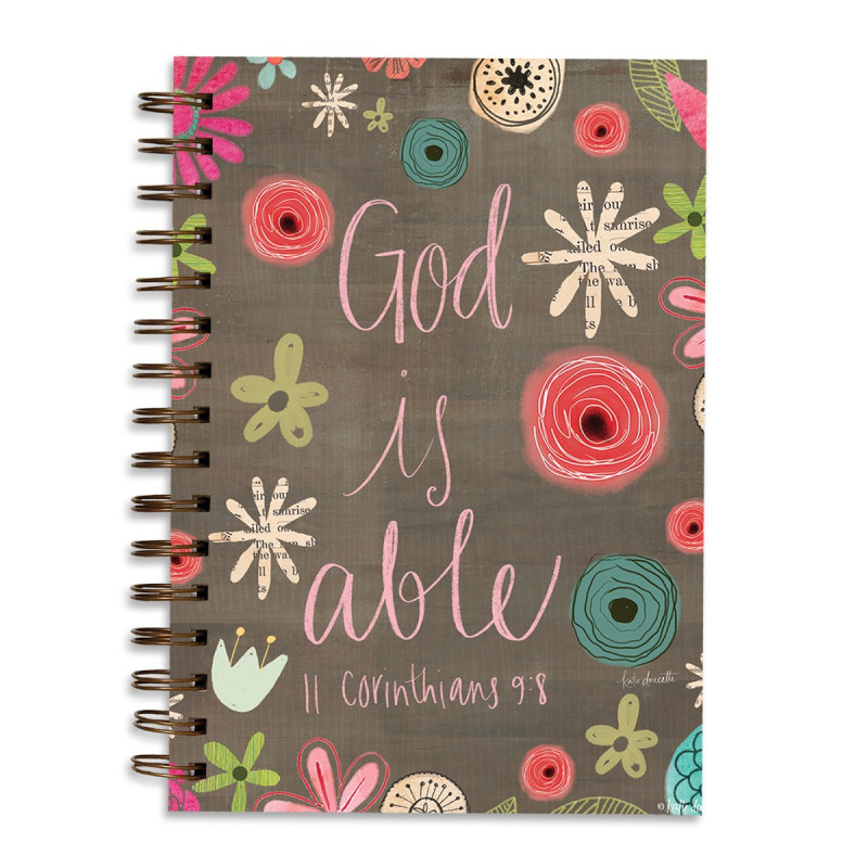 Carnet de notes God is able - 06430