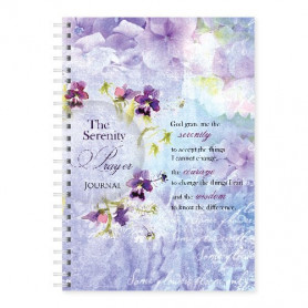 Carnet de notes The serenity prayer - 81658