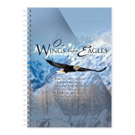 Carnet de notes Wings like eagles - 81659