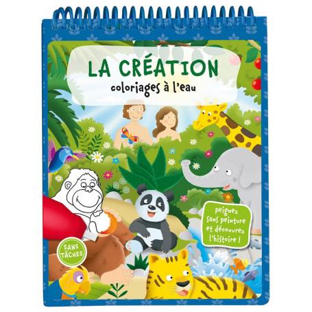 La création - Coloriages à l'eau – Editions LLB