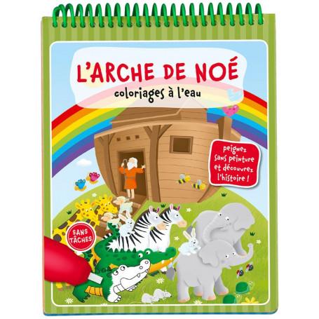 L'arche de Noé - Coloriages à l'eau – Editions LLB
