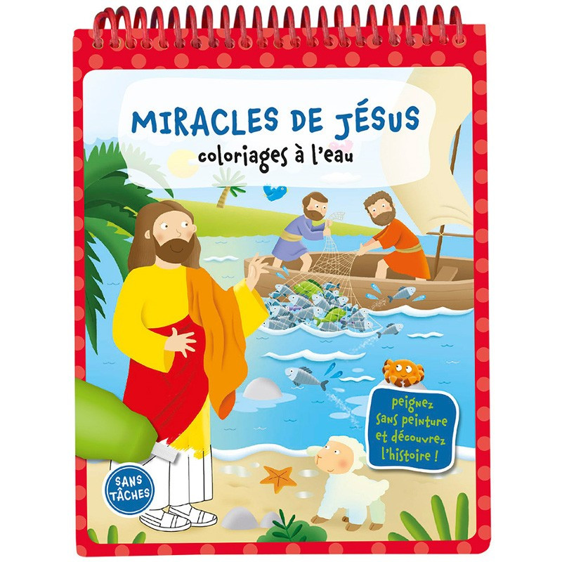 Miracles de Jésus - Coloriages à l'eau – Editions LLB