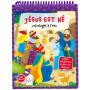 Jésus est né - Coloriages à l'eau – Editions LLB