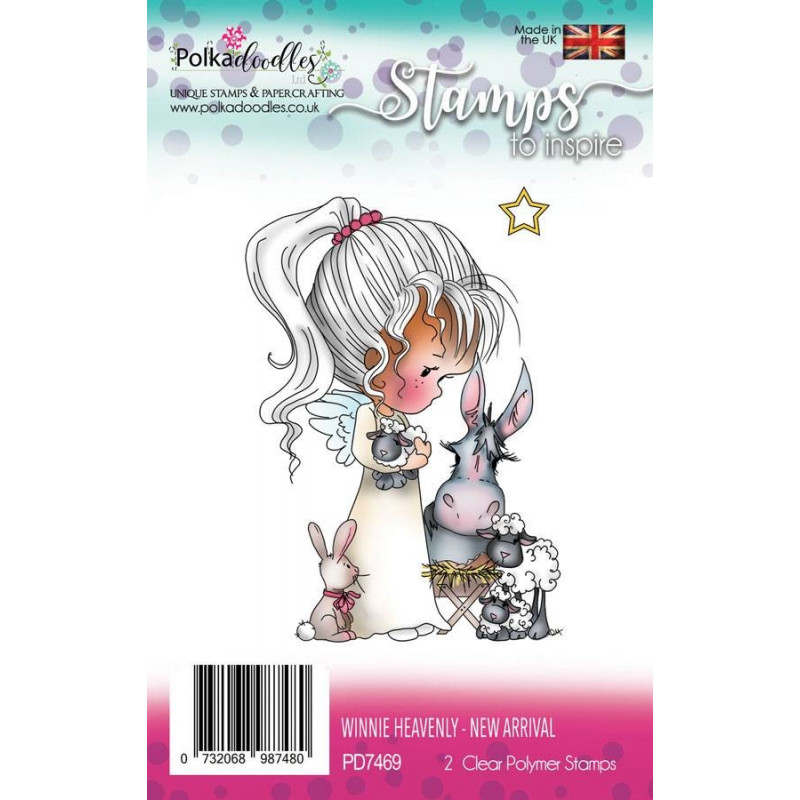 Tampons Winnie Heavenly New arrival – Polkadoodles Clear Stamps