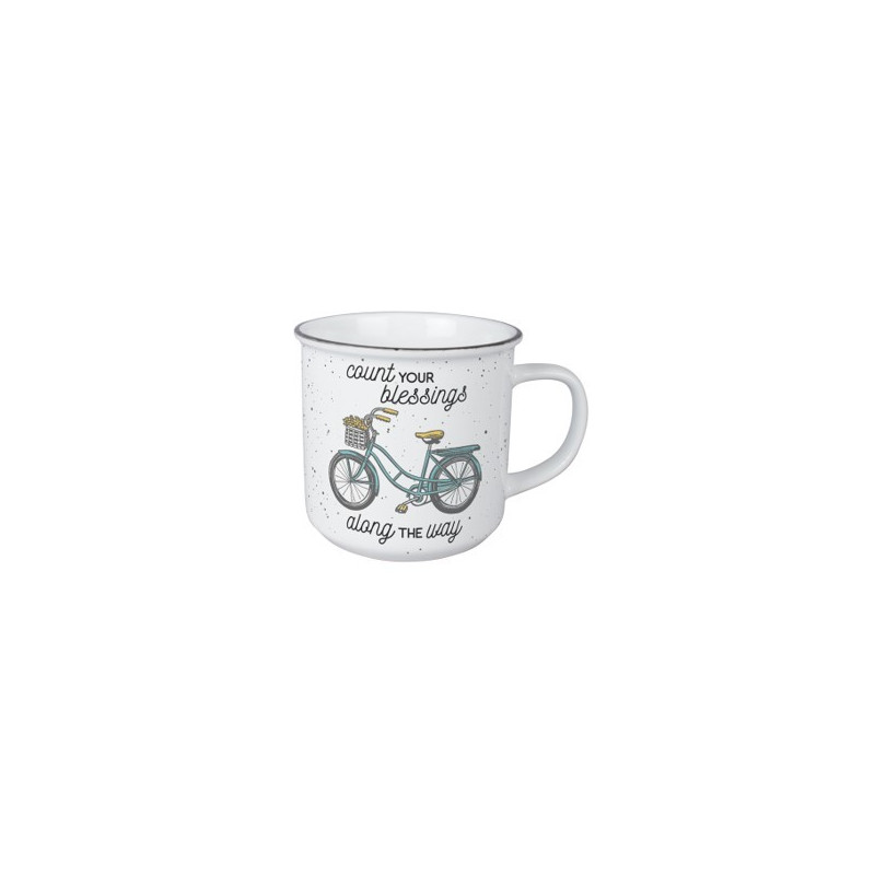 Mug vintage - Count your blessings along the way