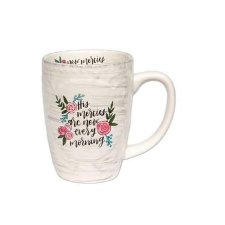 Mug sculpté His mercies are new every morning