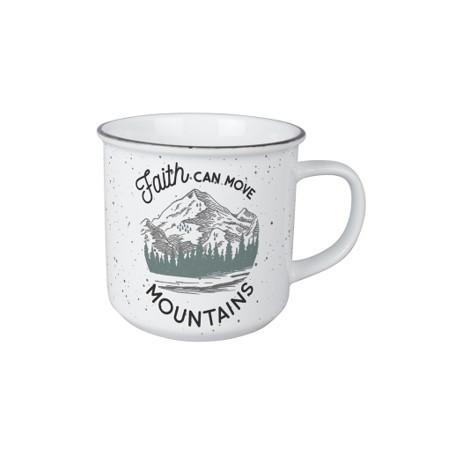 Mug vintage - Faith can move mountains