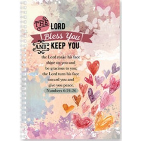 Carnet de notes The Lord bless you and keep you - 81783