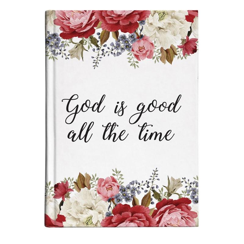 Petit Carnet de notes God is good all the time - 57885