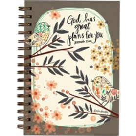 Carnet de notes God has great plans for you - 06617