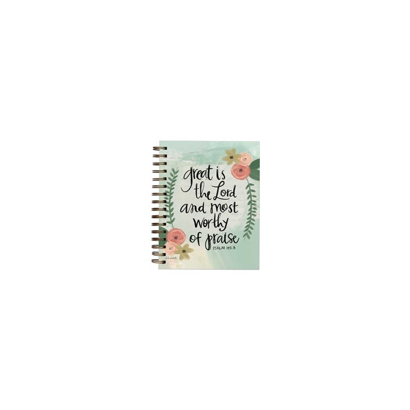 Carnet de notes Great is the Lord - 06616