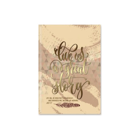 Carnet de notes Life is a great story - 81860