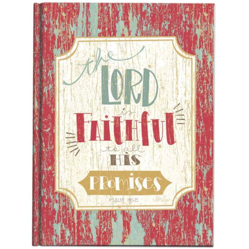 Carnet de notes Lord is faithful to all his promises - 06626