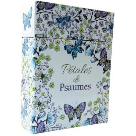 Pétales de Psaumes - Cartes à colorier et à partager