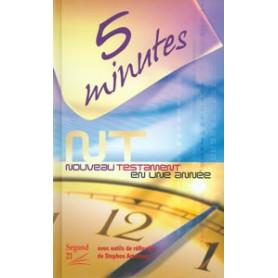 Nouveau Testament Segond 21 5 minutes en 1 an