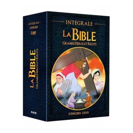 DVD La Bible Grands héros et récits - Coffret de 5 DVD
