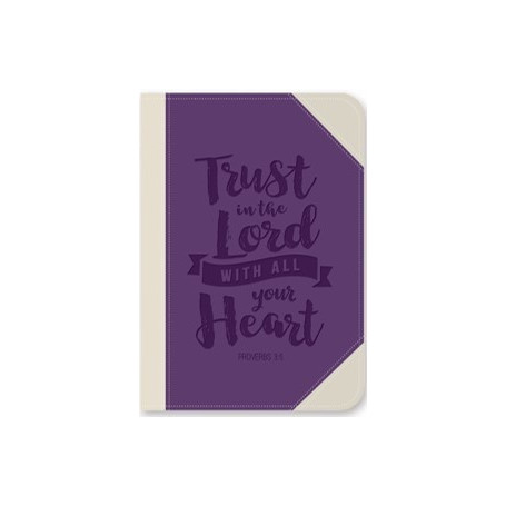 Carnet de notes Trust in the Lord - 81790