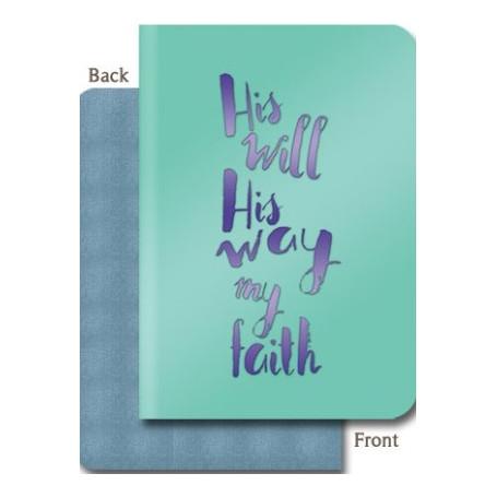 Carnet de notes His will His way - 81830