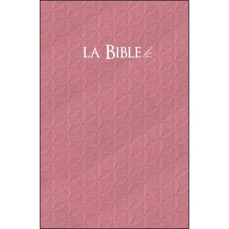Bible Segond 21 rigide rose compacte – SG12238