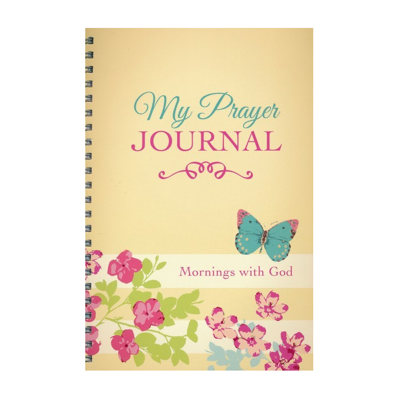 Carnet de notes My prayer journal - Mornings with God - 09697