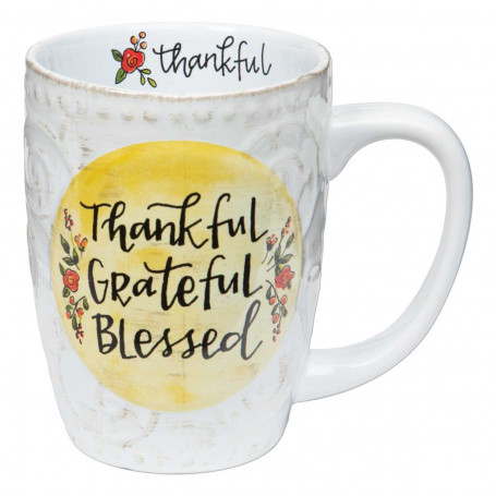 Mug Thankful Grateful Blessed