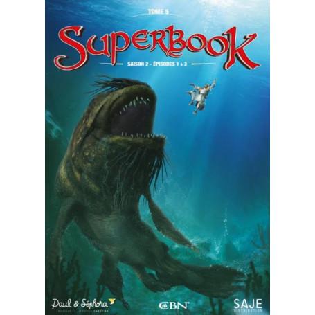 DVD Superbook Saison 2 - Episodes 1 à 3