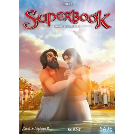 DVD Superbook Saison 2 - Episodes 4 à 6