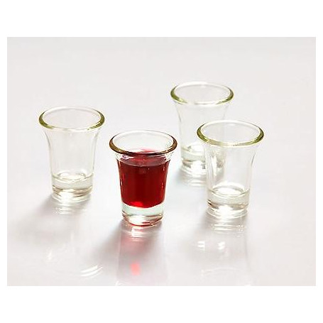 Sainte Cène 20 gobelets en verre - CLC