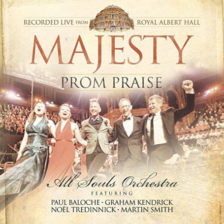 CD Majesty Prom Praise - All Souls'orchestra + DVD