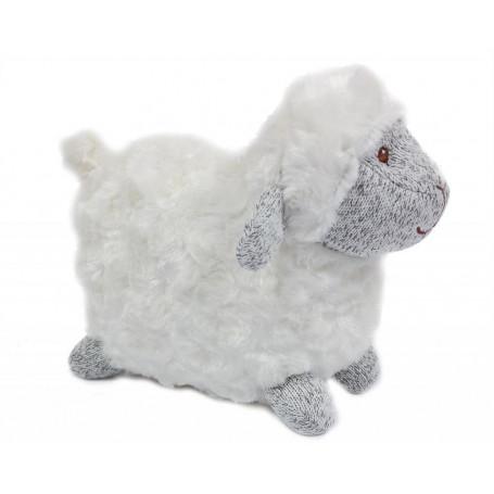 Peluche mouton 18x23cm - 16645
