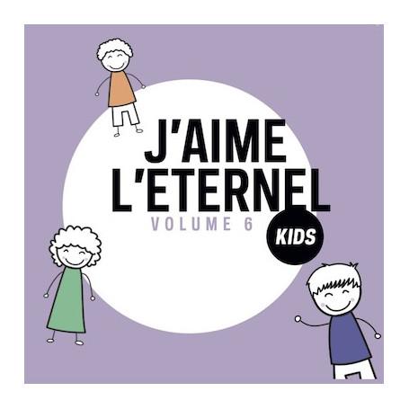 CD J'aime l'Eternel Kids 6
