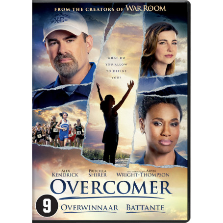 DVD Overcomer - Battante