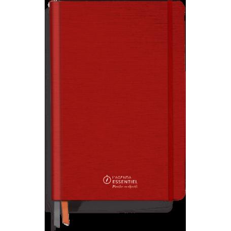 Agenda Essentiel Rouge - Planifier vos objectifs