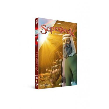 DVD Superbook Tome 7 - Saison 2 - Episodes 7 à 9
