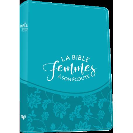 Bible femmes à son écoute - souple - turquoise