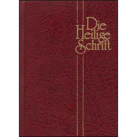 Bible Schlachter allemand rigide grenat