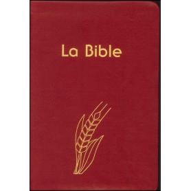 Bible Semeur compacte souple PU rouge tranche dorée